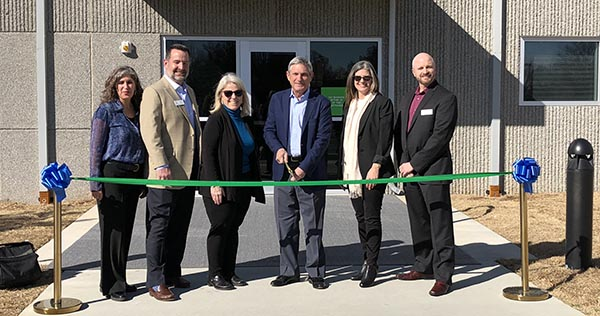 Tulsa data center ribbon cutting - TierPoint