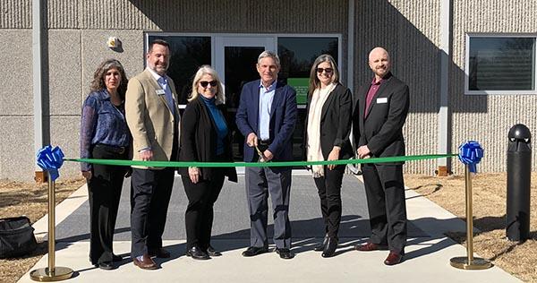Tulsa data center ribbon cutting - TierPoint