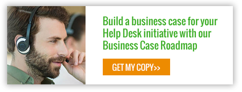 Build a business case for your Help Desk initiative with our Business Case Roadmap. Get yours today...